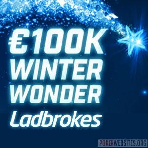 €100K Winter Wonder Promotion at Ladbrokes Poker