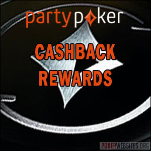 Party Poker - Cashback Rewards
