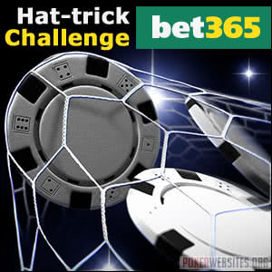 Be a Hat-Trick Hero at Bet365 Poker