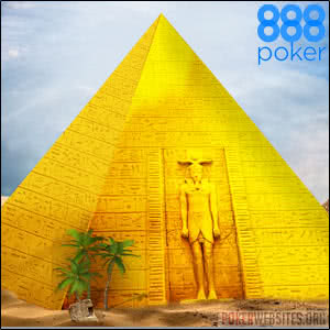 888Poker - The Golden Pyramid
